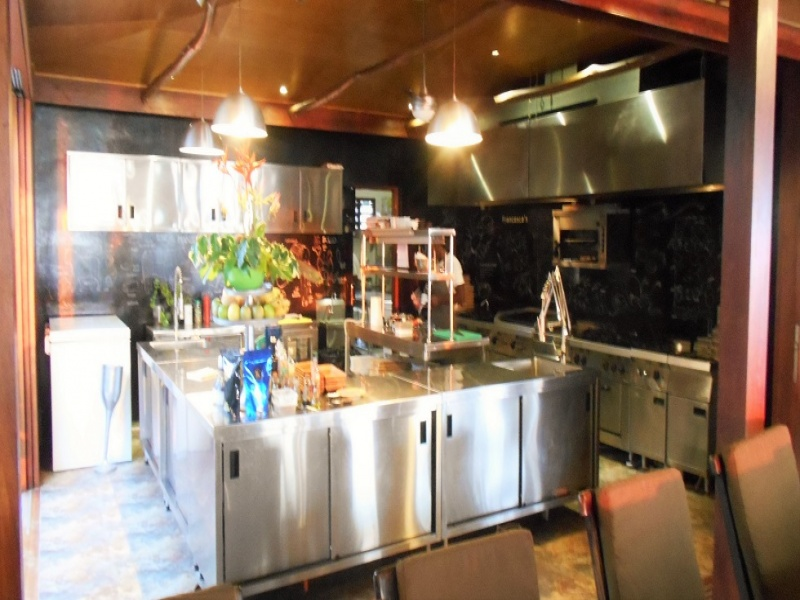36m2 fully equipped SS professional kitchen