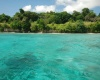 Crustal blue waters with corals right in front of the property